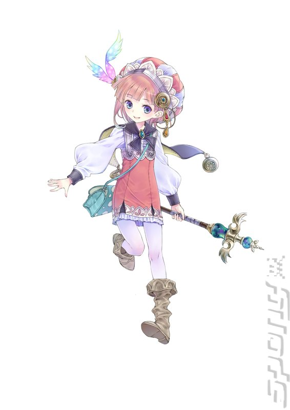 Atelier Meruru: The Apprentice of Arland - PSVita Artwork