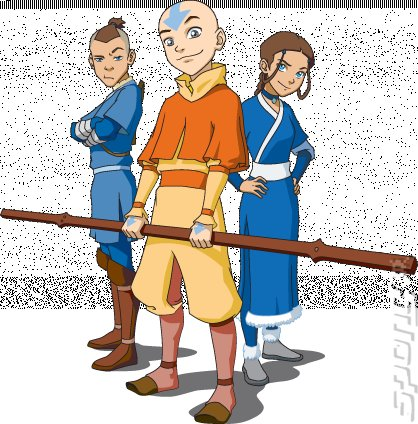 Pin avatar the legend of aang wii screen on pinterest