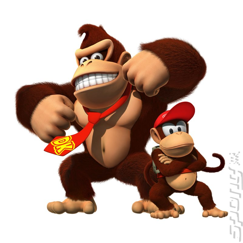Donkey Kong Country Returns - Wii Artwork