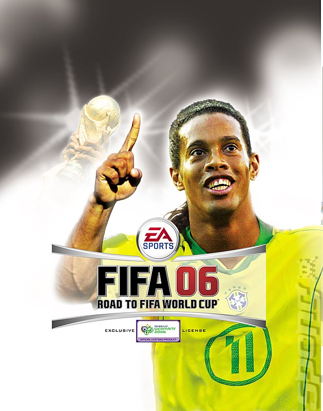 FIFA 06: Road to FIFA World Cup - Xbox 360 Artwork