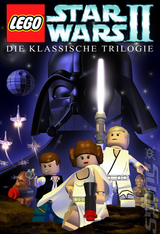 LEGO Star Wars II: The Original Trilogy - DS/DSi Artwork