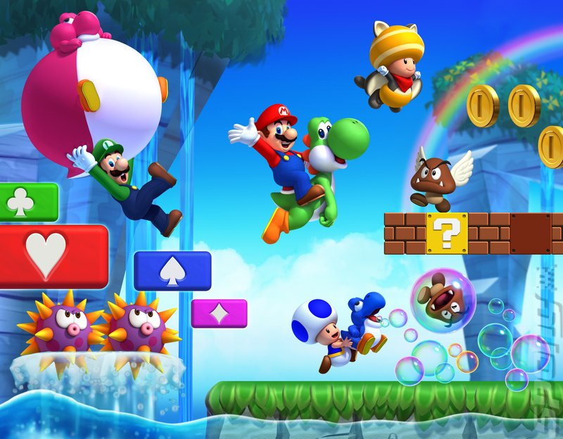 New Super Mario Bros. U Editorial image