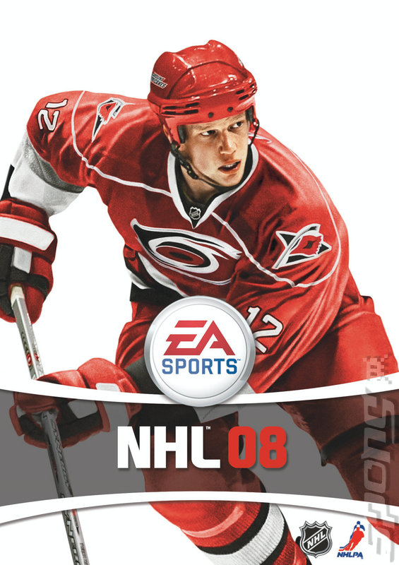 NHL 08 - Xbox 360 Artwork