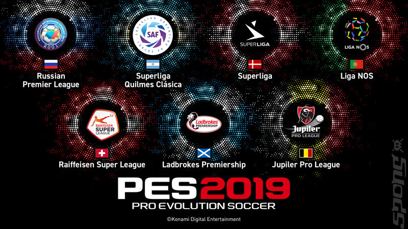 PES 2019 - Xbox One Artwork
