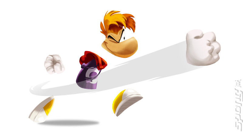 Rayman Legends - Wii U Artwork