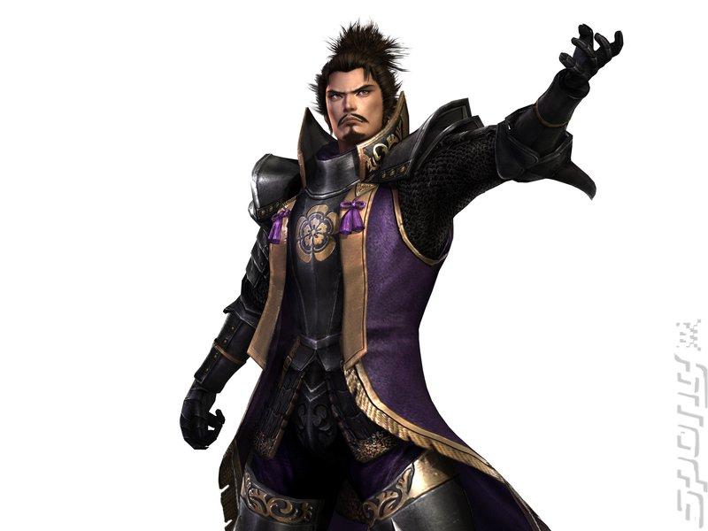 Samurai Warriors 3 - Wii Artwork