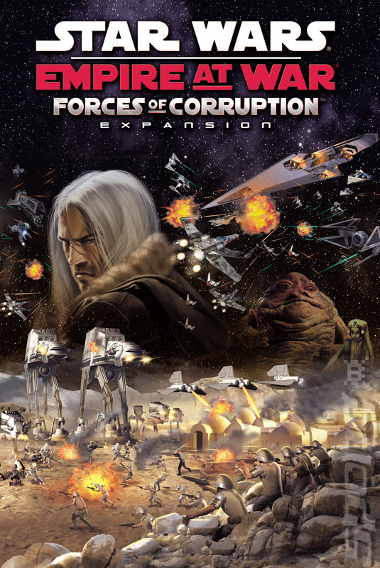Скачать Star Wars:Empire at War The Force of Corruption через торрент.
