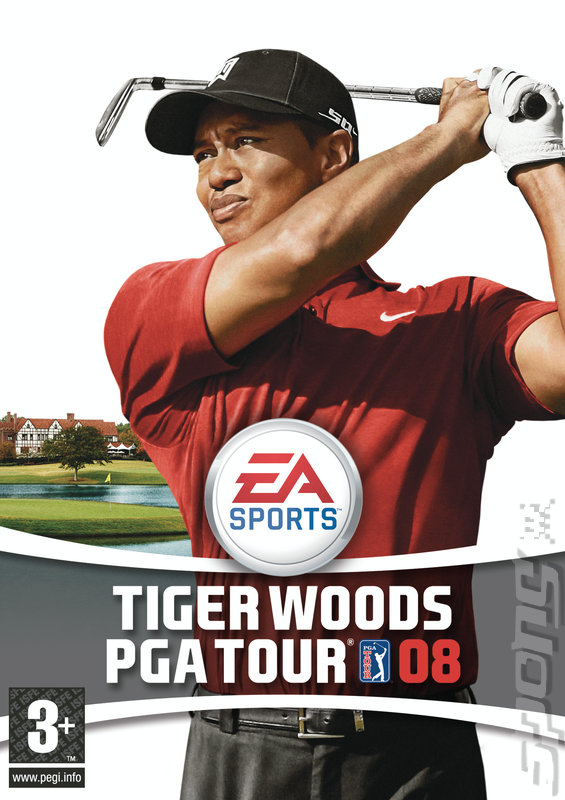 Tiger Woods PGA Tour 08 - Xbox 360 Artwork