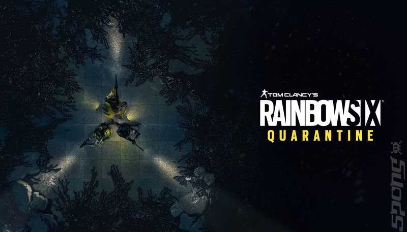 Tom Clancy's Rainbow Six: Quarantine - PS4 Artwork
