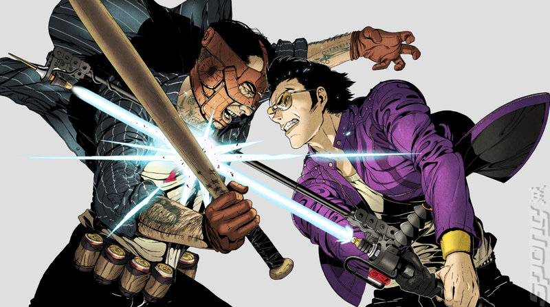 Suda51 on Travis Strikes Again Editorial image