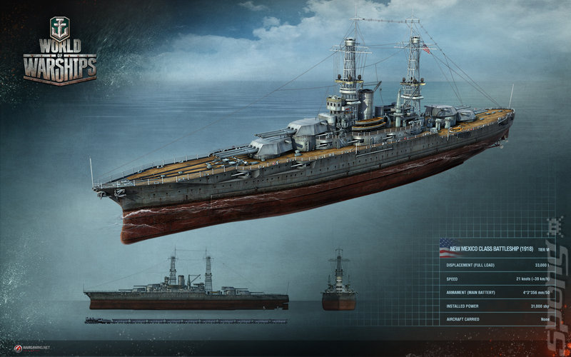 World of Warships - PC Artwork