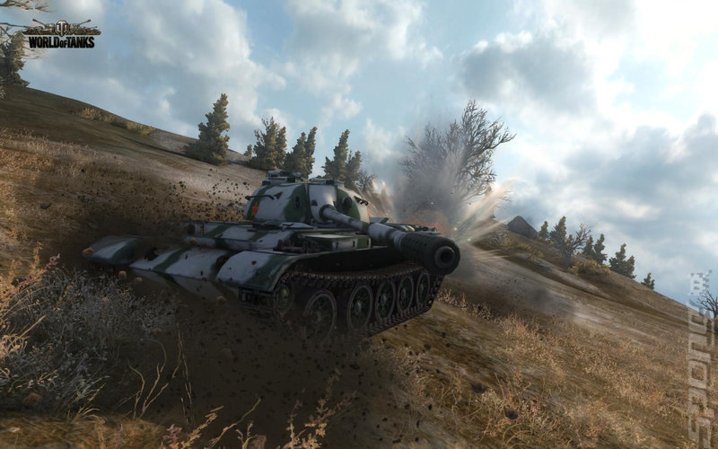 Chinese Democracy: World of Tanks 8.3 Editorial image