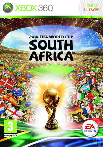 2010 FIFA World Cup South Africa - Xbox 360 Cover & Box Art