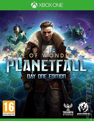 Age of Wonders: Planetfall - Xbox One Cover & Box Art