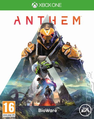 Anthem - Xbox One Cover & Box Art