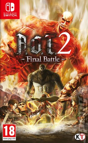 A.O.T. 2: Final Battle - Switch Cover & Box Art