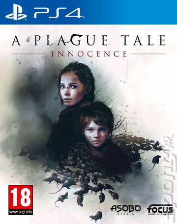 A Plague Tale: Innocence - PS4 Cover & Box Art