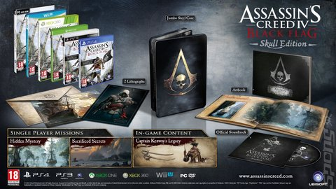 Covers Box Art Assassin S Creed Iv Black Flag Ps3 1 Of 5
