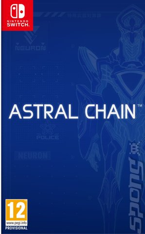 Astral Chain - Switch Cover & Box Art