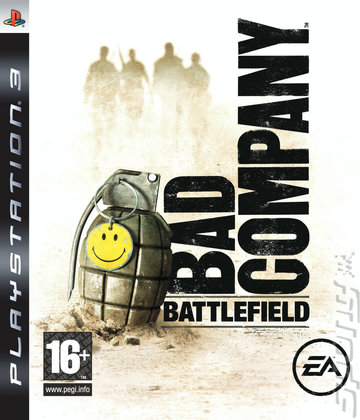 Battlefield: Bad Company - PS3 Cover & Box Art