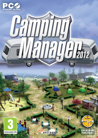 Camping Manager 2012 - PC Cover & Box Art