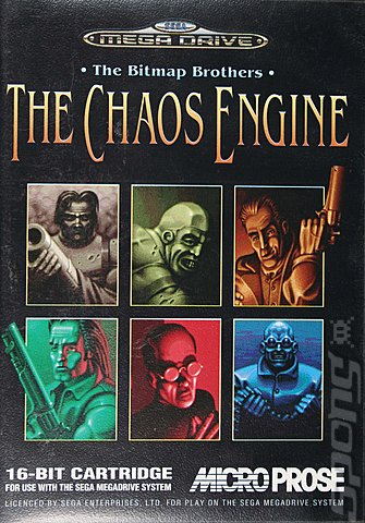 Chaos Engine, The - Sega Megadrive Cover & Box Art