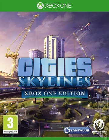 Cities: Skylines  - Xbox One Cover & Box Art