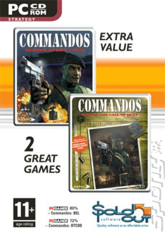 Cover & Box Art: Commandos: Behind Enemy Lines & Beyond the Call ...