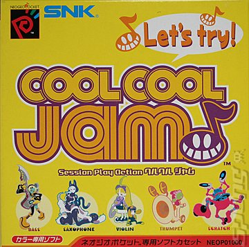 Cool Cool Jam - Neo Geo Pocket Colour Cover & Box Art
