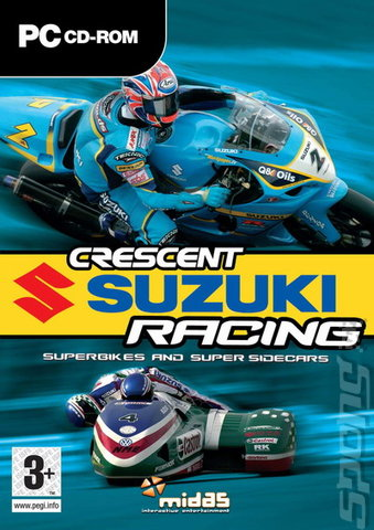 Crescent Suzuki Racing - PC Cover & Box Art