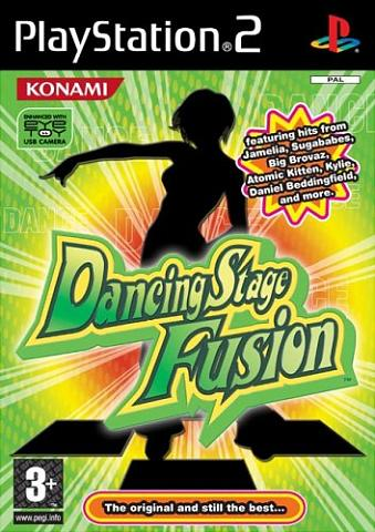 Dancing Stage Fusion - PS2 Cover & Box Art