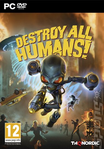 Destroy All Humans! - PC Cover & Box Art