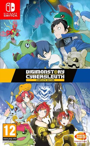 Digimon Story: Cyber Sleuth - Switch Cover & Box Art