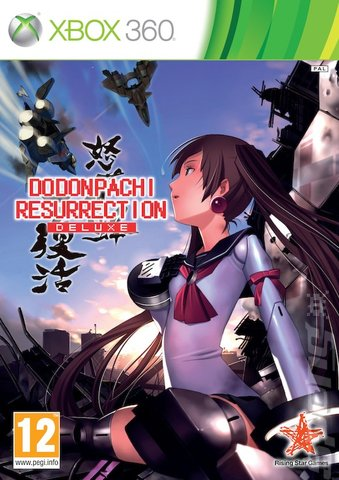 Dodonpachi Resurrection: Deluxe - Xbox 360 Cover & Box Art