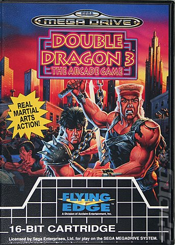 Covers Box Art Double Dragon 3 Rosetta Stone Sega Megadrive 1 Of 1