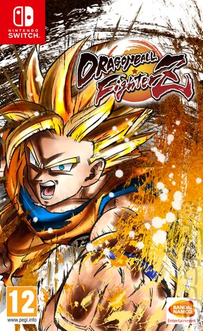 DRAGON BALL FighterZ - Switch Cover & Box Art