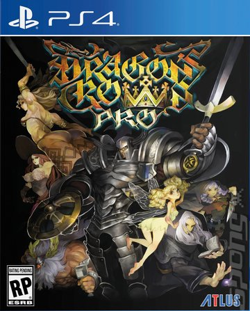 Dragon's Crown - PS4 Cover & Box Art