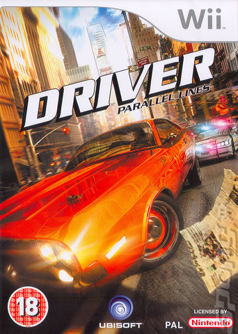 Driver: Parallel Lines - Wii Cover & Box Art