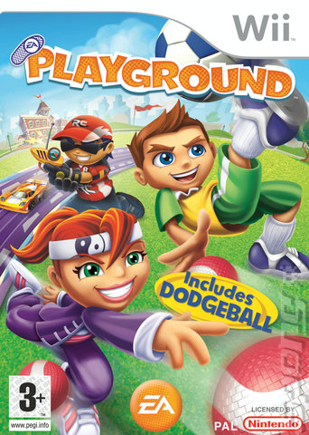 EA Playground - Wii Cover & Box Art