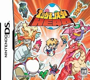 Egg Monster Heroes - DS/DSi Cover & Box Art