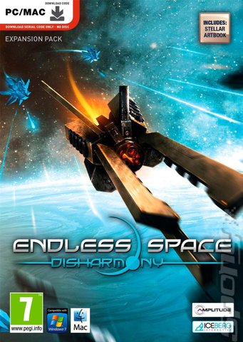 Endless Space: Disharmony - PC Cover & Box Art