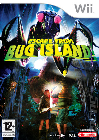 Escape From Bug Island - Wii Cover & Box Art