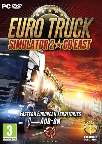 Euro Truck Simulator 2: Go East - PC Cover & Box Art