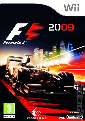 F1 2009 - Wii Cover & Box Art