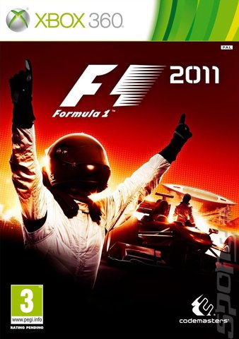 F1 2011 - Xbox 360 Cover & Box Art