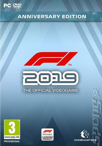 F1 2019 - PC Cover & Box Art