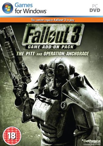 Fallout 3 Game Add-on Pack: The Pitt and Operation Anchorage - PC Cover & Box Art