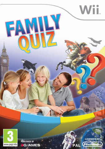Family Quiz PAL Wii (Exclue) [FS]