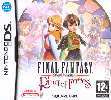 Final Fantasy Crystal Chronicles: Ring of Fates - DS/DSi Cover & Box Art