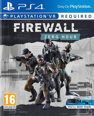 Firewall Zero Hour - PS4 Cover & Box Art